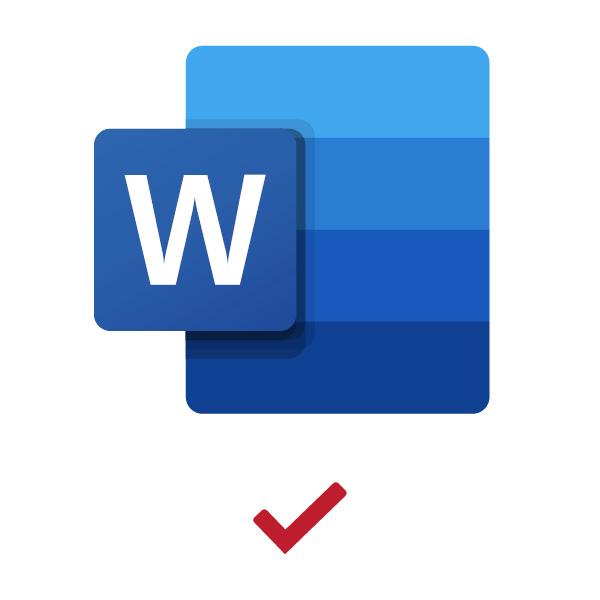Lexscan Word Export